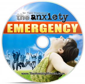 The Anxiety Emergency Audio CD